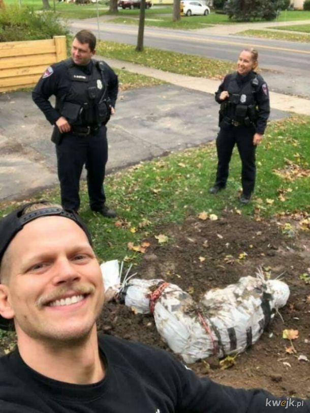 15 osób, które grubo przegięły z halloweenowymi dekoracjami i ktoś wezwał policję