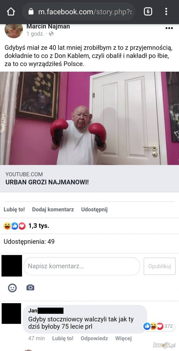 Urban vs Najman