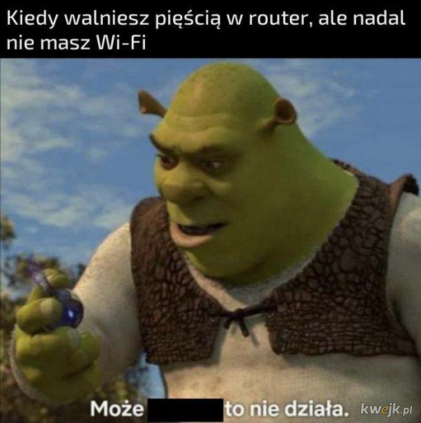 Walka z routerem