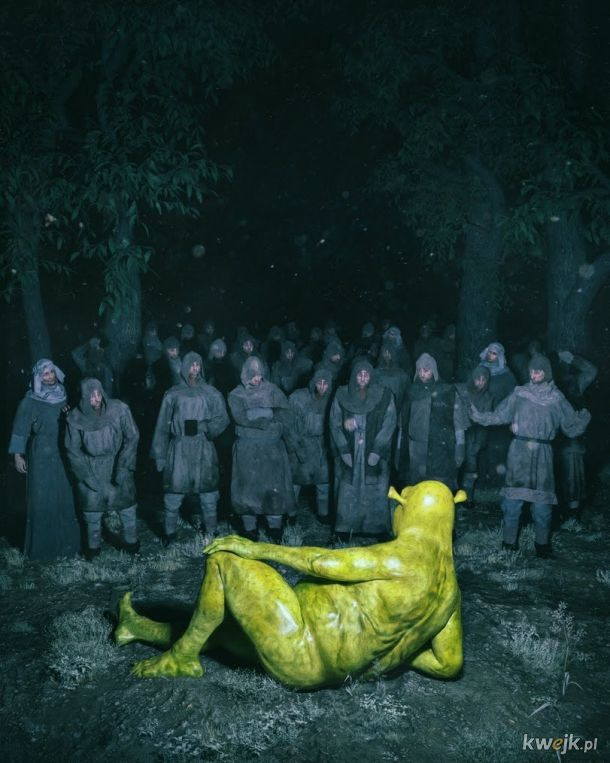 Wersja kinowa Shreka wg netflixa