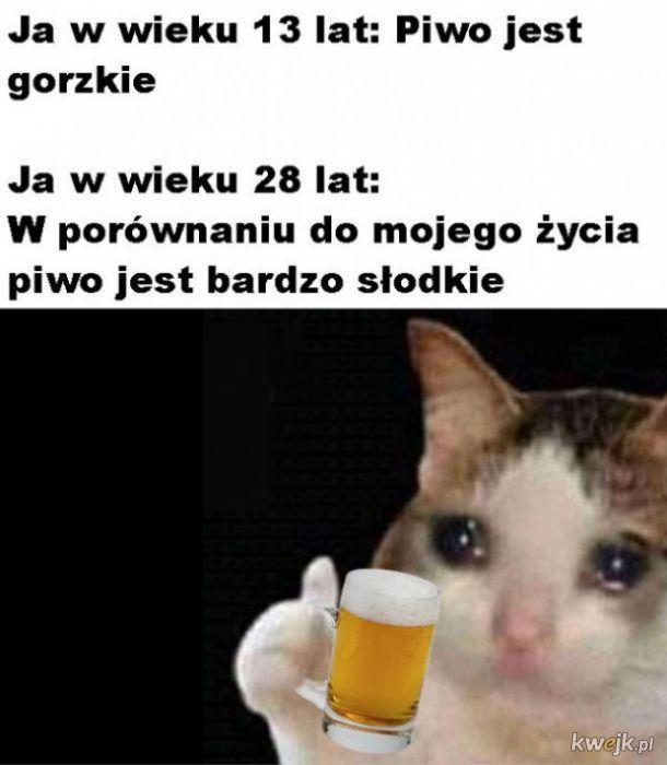 Gorzkie  piwo