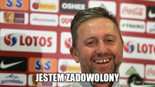 Trener Brzęczek po meczu z Włochami