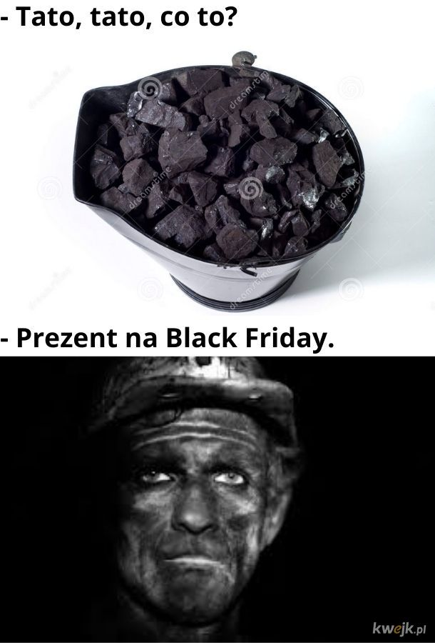 Prezent na Black Friday
