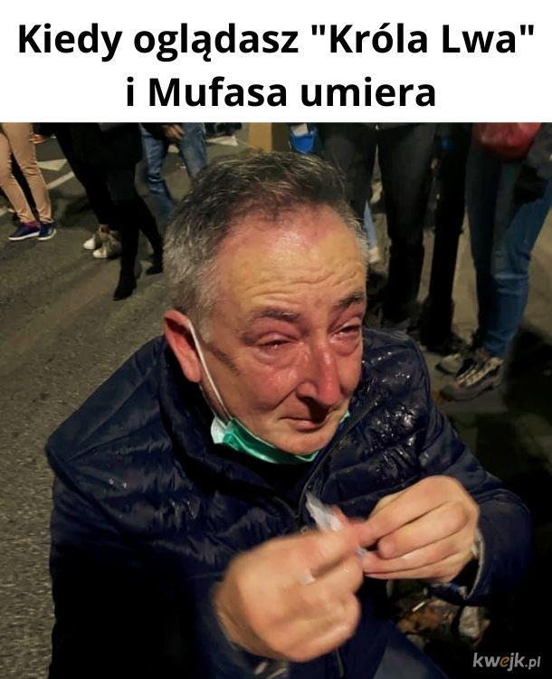 Nie wstydź się łez. Każdy z nas płakał