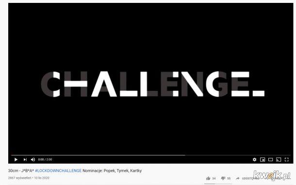 LockDownChallenge gruba sprawa gruba nominacja ;D