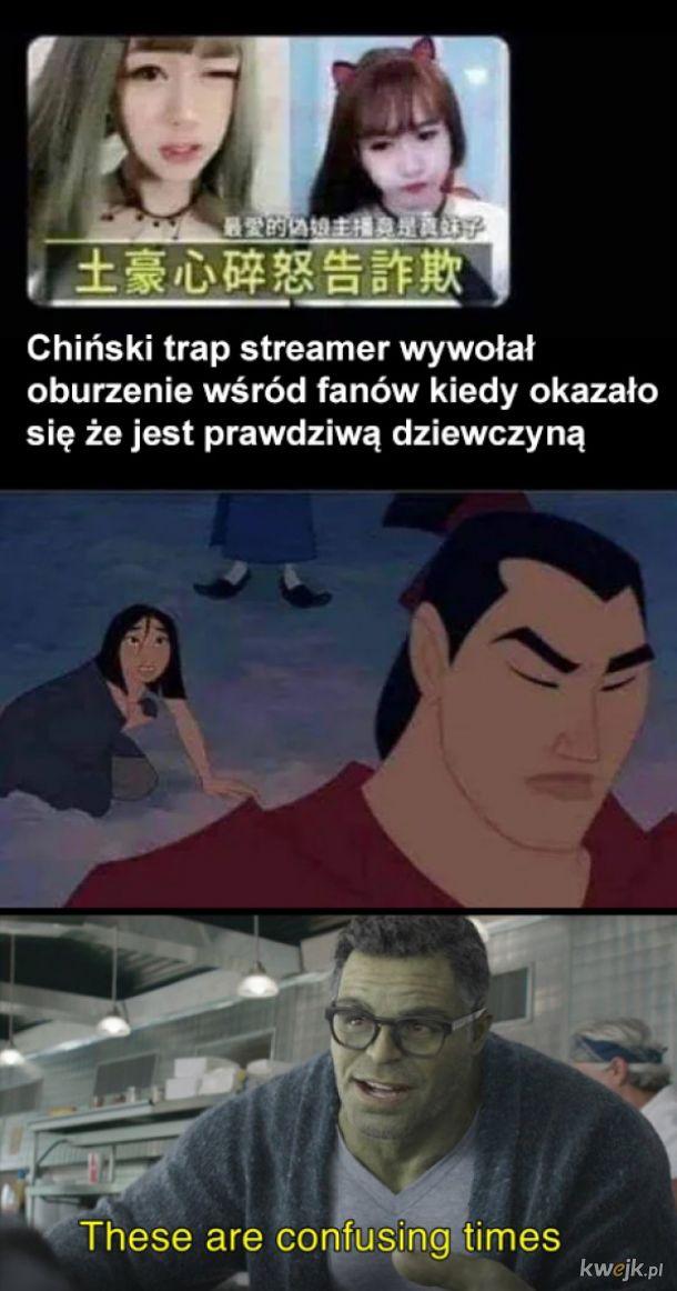 Chiński streamer