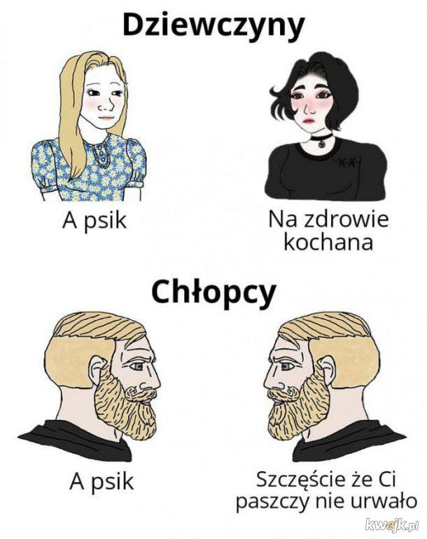 Różnica między chłopcami a dziewczynami
