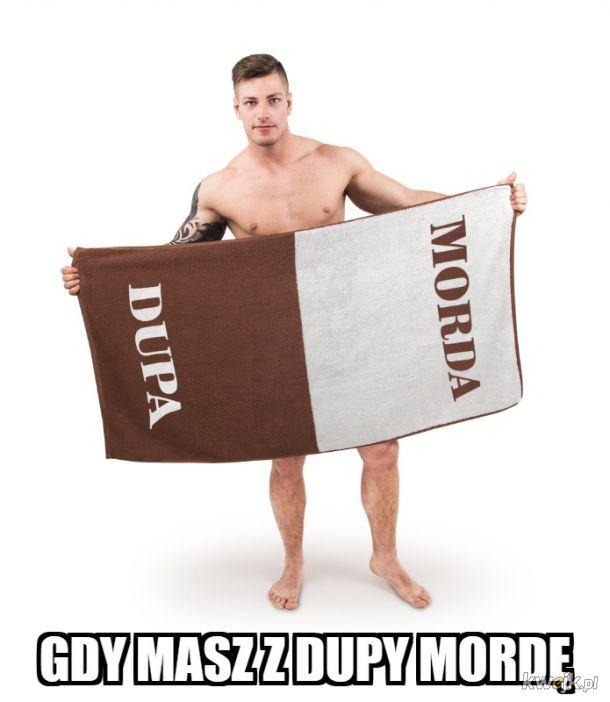 Ręcznik dla niewyglądających