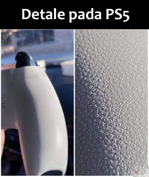 Piękny pad PS5