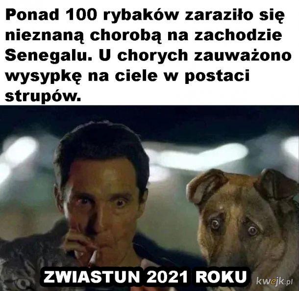 Zwiastun 2021 roku
