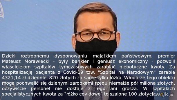 Niech żyje zbrodniczy reżim! Covid w końcu się skończy, dług Polski na ponad 4 biliony złotych i skorumpowana, antypolska kasta polityczna zostanie...
