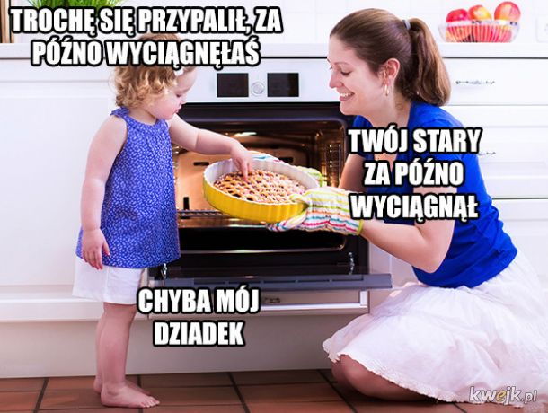 Dissowanko z córką