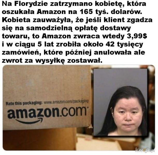 Oszustka z Amazon