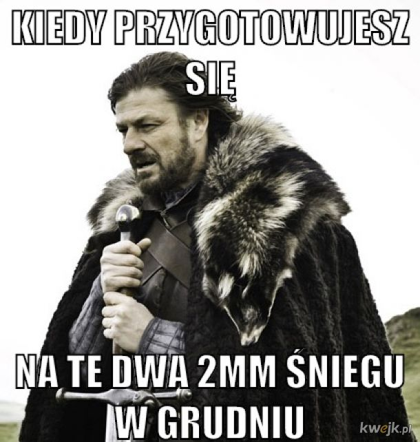 Złota Polska zima