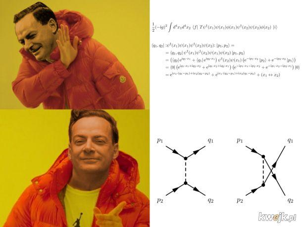 Feynman dla kumatych