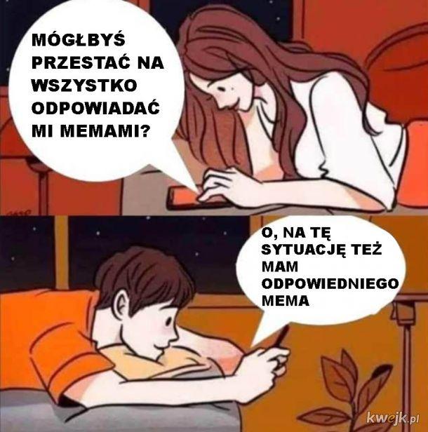 Mem na sytuację