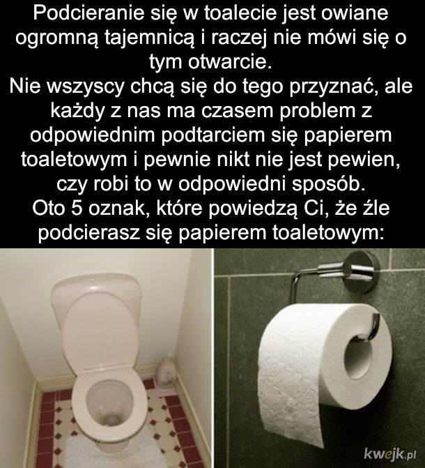 Błędy które popełniamy na wizycie w toalecie