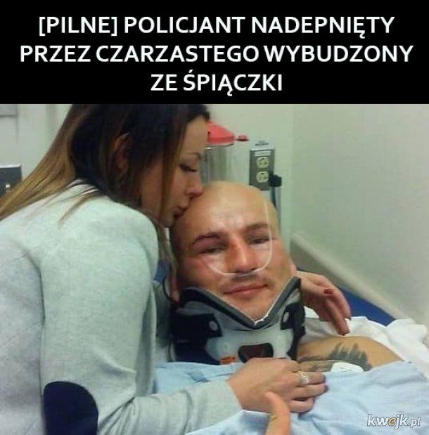 Biedny policjant