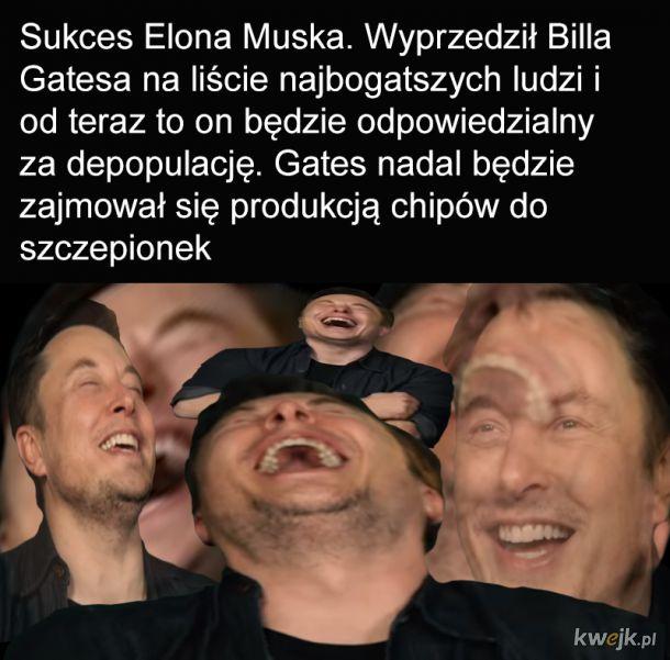 Wielki sukces Elona Muska