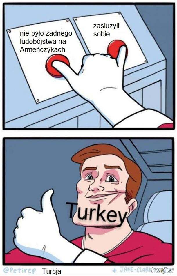 Turcy tak mają, dwoista natura, jak u p0laka