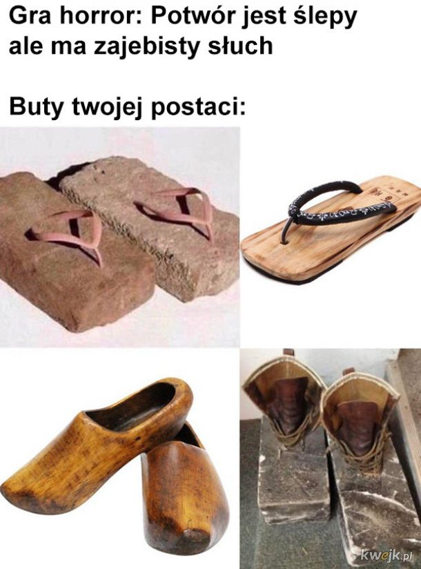 Buty postaci