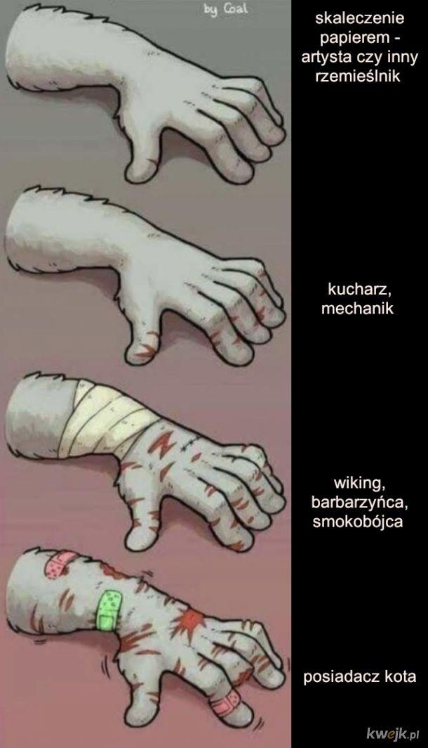 Rodzaje ludzi ze względu na ręce