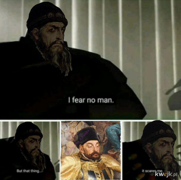 Iwan groźny i Batory