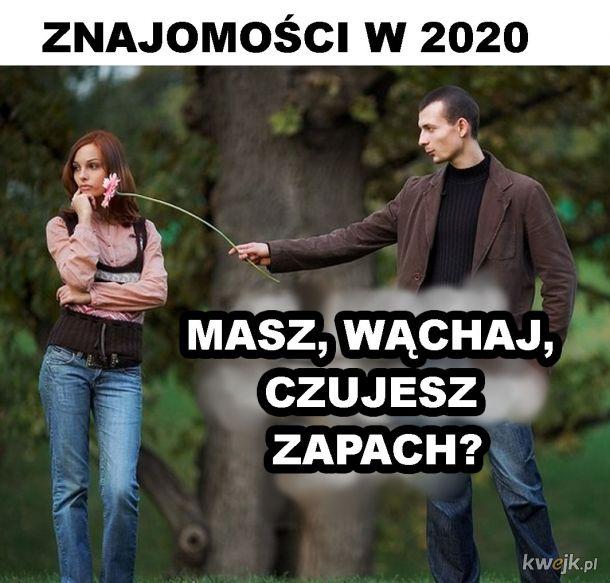 Znajomości w 2020