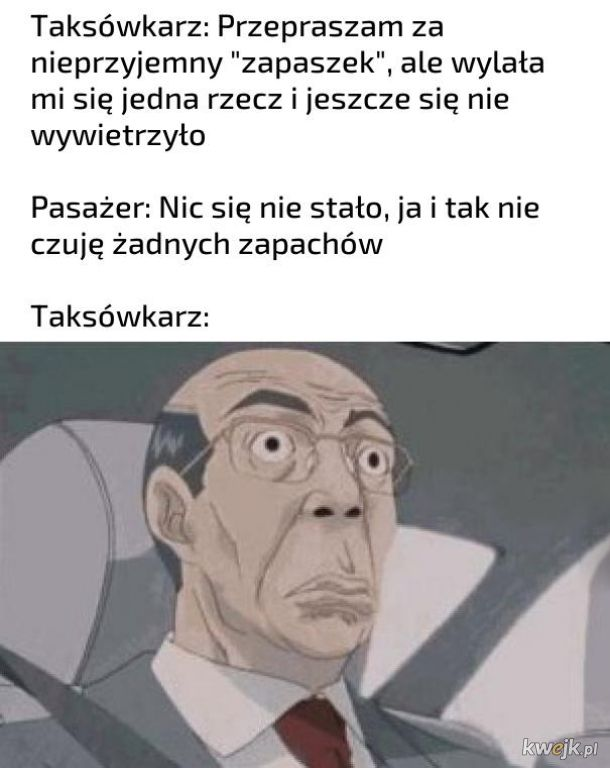 W taksówce