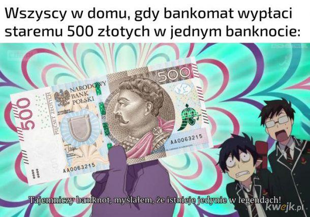 Mityczny banknot