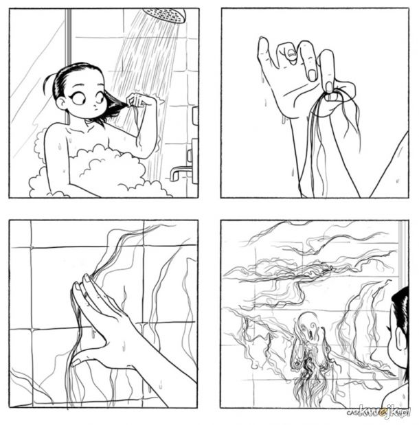 Problemy pod prysznicem