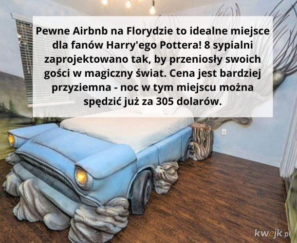 Nocleg w stylu Harry'ego Pottera