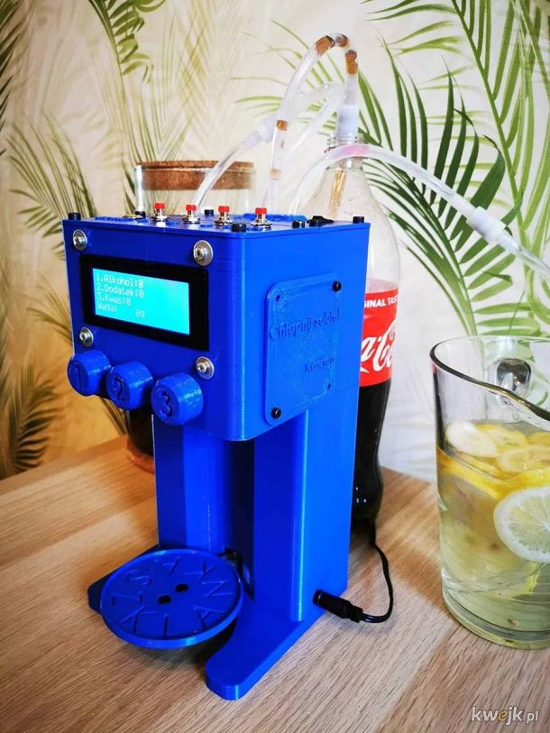 Automatyczny barman polskiej produkcji