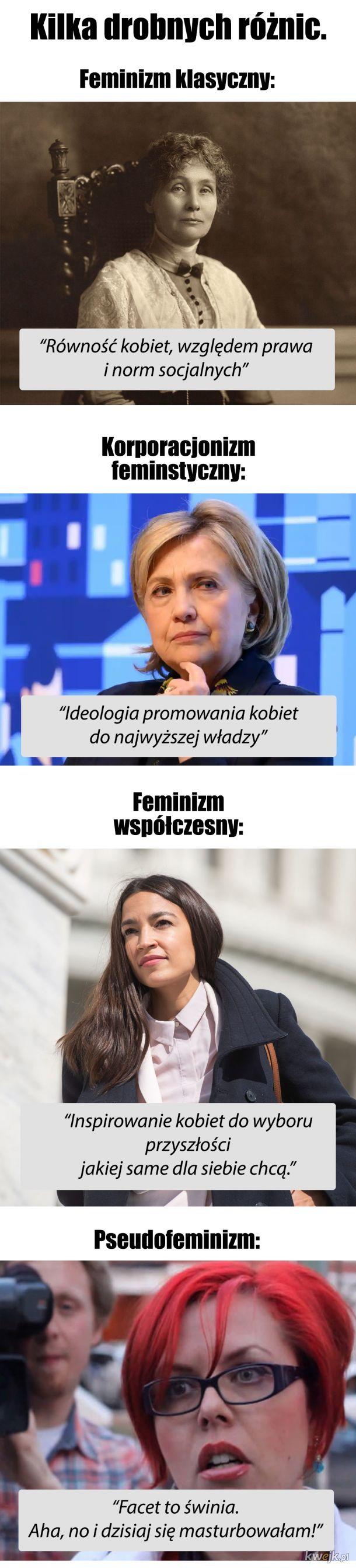 Feminizm taki bywa...