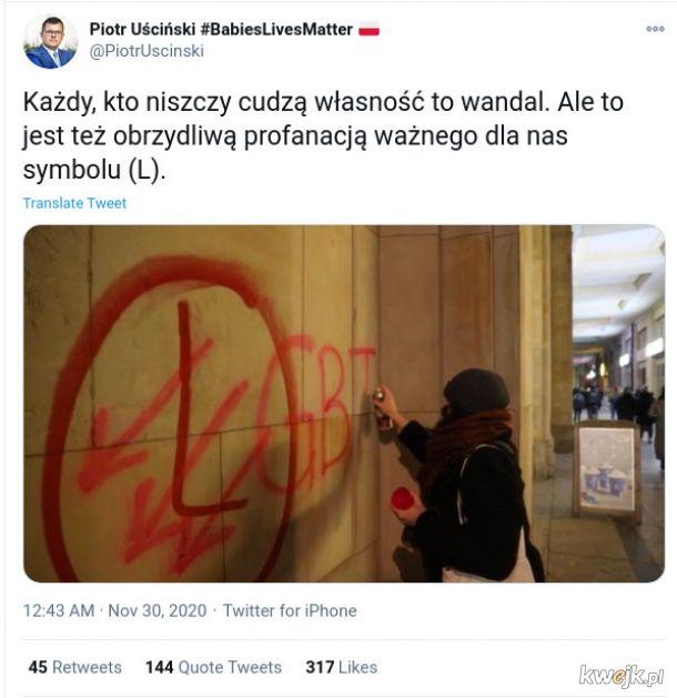 To nie jakiś anonimowy debil tylko poseł na sejm Rzeczypospolitej Polskiej