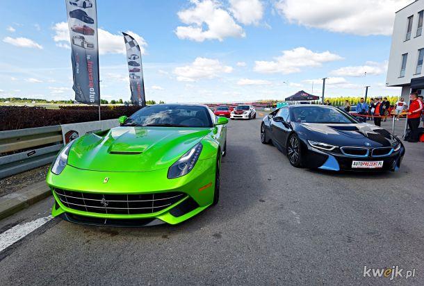Ferrari F12berlinetta & BMW i8
