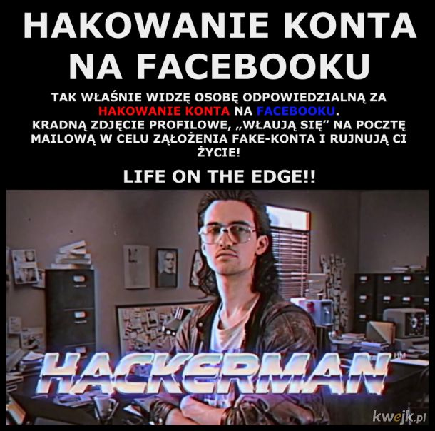 HACKERMAN - Life On The Edge
