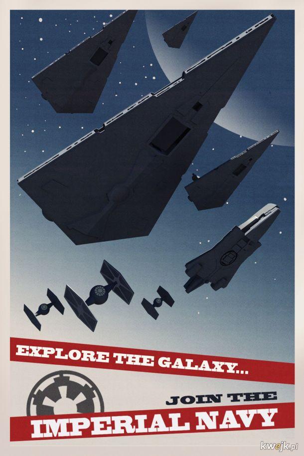 Zwiedzaj Wszechświat - dołącz do Imperialnej Marynarki