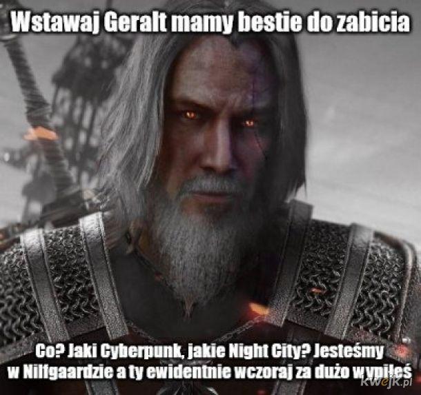 Za dużo białej mewy, Geralt