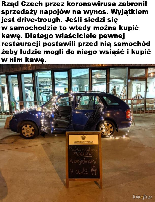 Pomysłowa restauracja z Czech