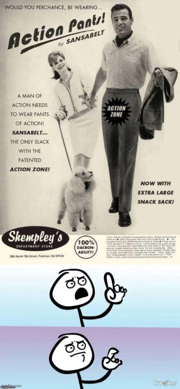 Spodnie aktywisty