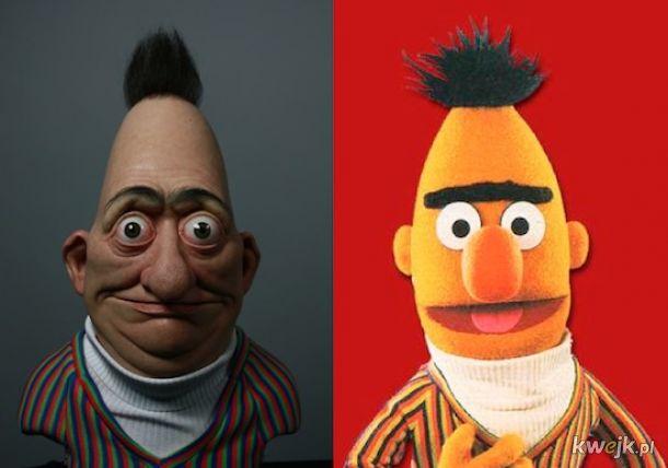 Bert przed wstąpieniem do Policji