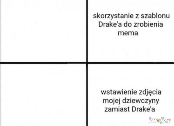 Szablon do mema