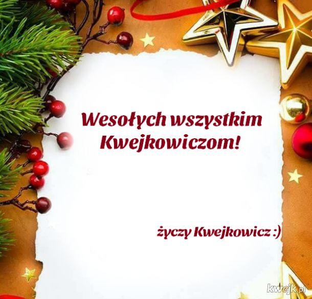 Wesołego i szczęśliwego Panie i Panowie!