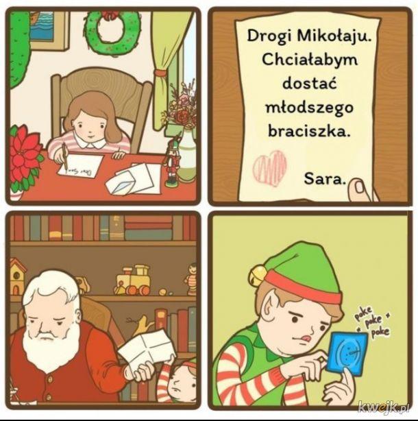 Życzenie do Mikołaja