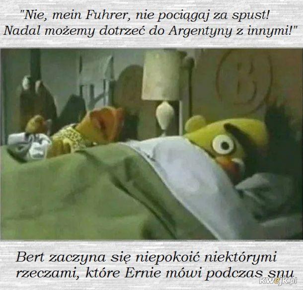 Wspomnienia prześladujące Erniego