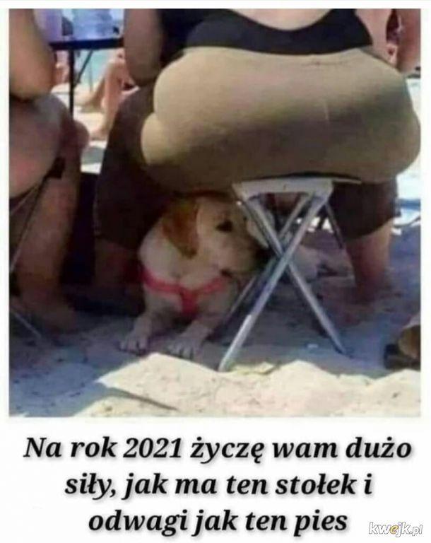 Siły i odwagi ᕦ(ò_ó)ᕤ na 2021!