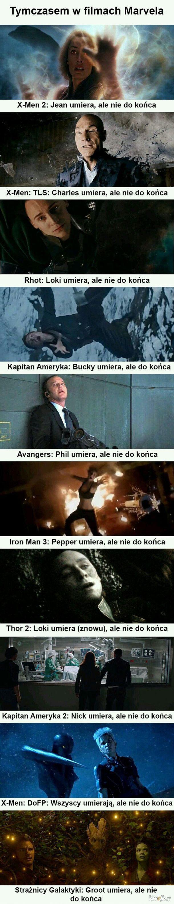 Tymczasem w Marvelu