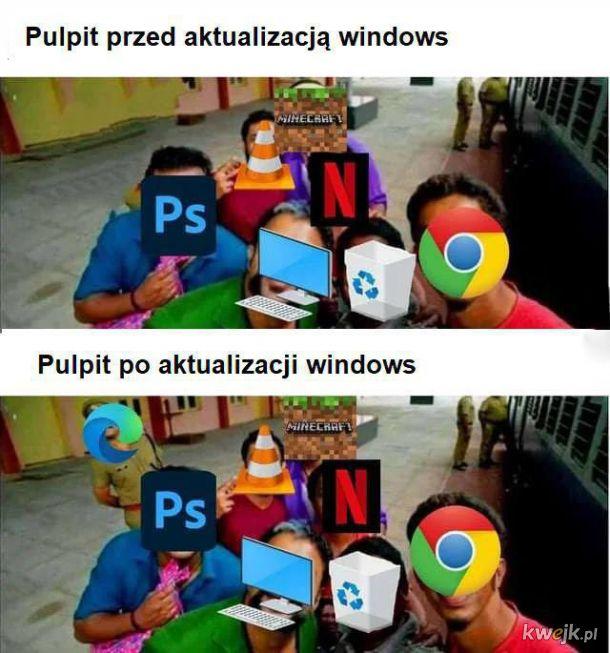 Aktualizacja windows