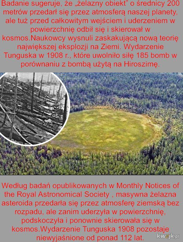 Czym była katastrofa Tunguska? Są różne pomysły na powód ogromnych zniszczeń w środku Syberii